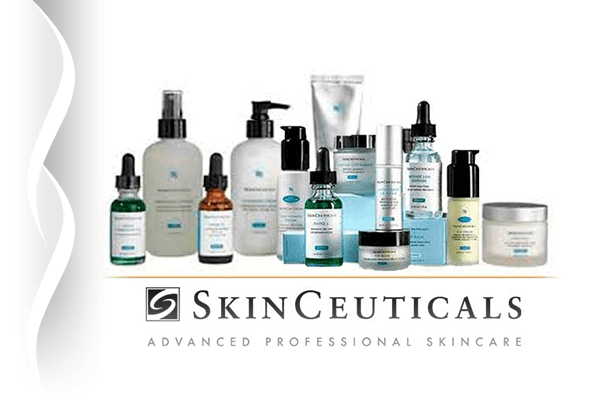 A picture of SkinCeuticals products, advanced professional skincare.