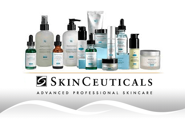 A picture of SkinCeuticals products.